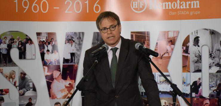 Ambasador Nemačke u Srbiji posetio šabački Hemofarm