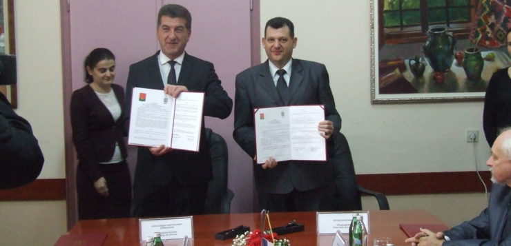 Potpisan sporazum o saradnji opštine Bogatić i grada Brjanska