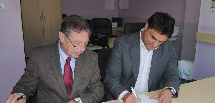 Potpisan ugovor o stručno–naučnoj saradnji