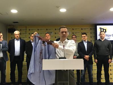 Pokušaj ubistva Borka Stefanovića