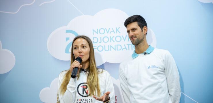 Novak i Jelena Đoković otvorili prvi vrtić u Prnjavoru